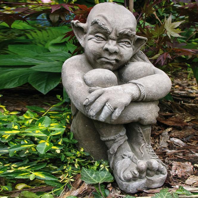 Gartenfigur Troll Phil