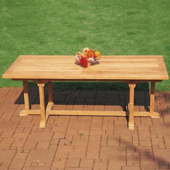 TEAK-Maxi-Tisch King Henry, Länge 200-300 cm