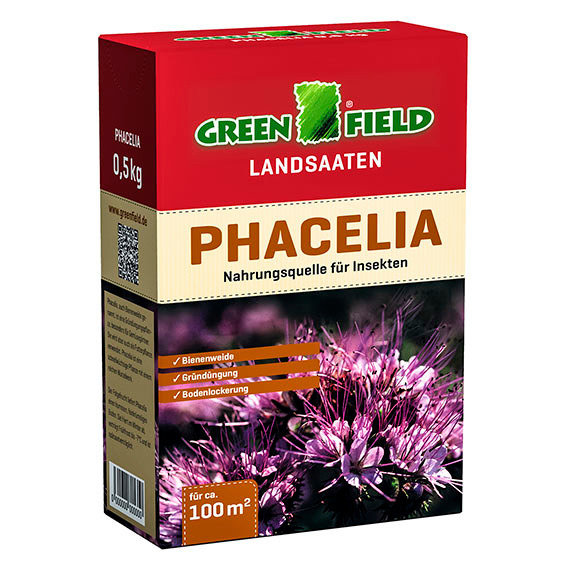 Bodenkur Phacelia Samen, 0,5 kg