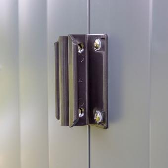 Metallgerätehaus, rostfrei, verzinkter Stahl, ca. 151 x 190 x 194 cm | #10