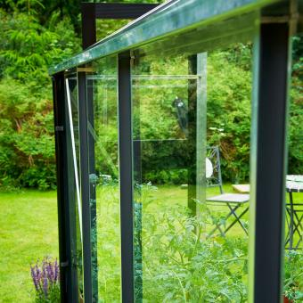 JULIANA Gewächshaus Premium 8,8 m², silber | #10
