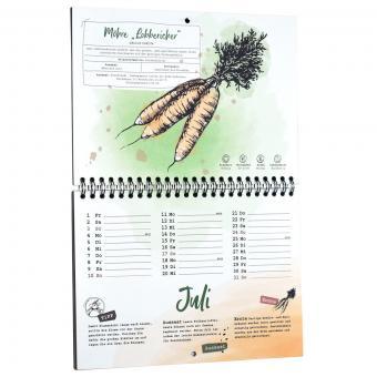 Einpflanzbarer Kalender - Historisches Saatgut | #10