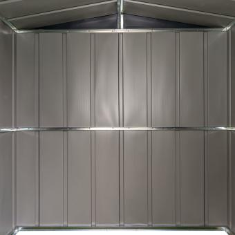 Metallgerätehaus, rostfrei, verzinkter Stahl, ca. 151 x 190 x 194 cm | #11