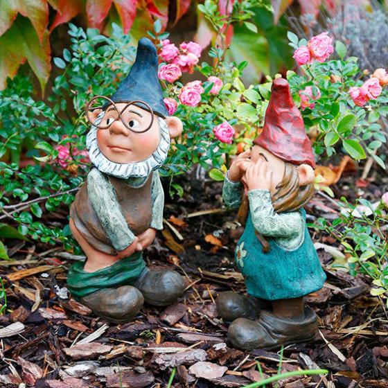Gartenzwerge Willy & Christl, 2er-Set | #2