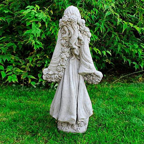 Gartenfigur Rosenmädchen | #2