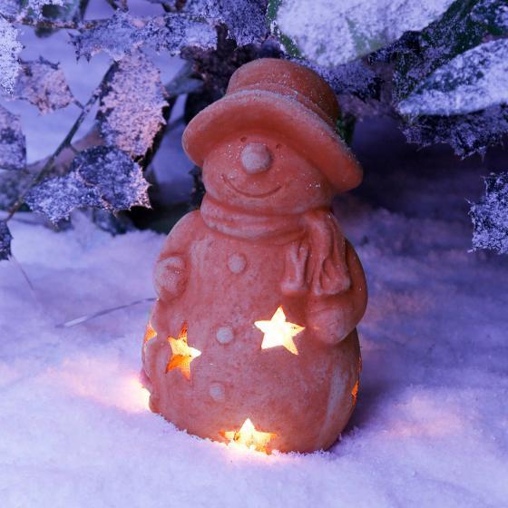 Terracotta-Schneemann Kläuschen | #2