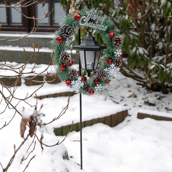 Solar-LED-Gartenstecker Winter Welcome | #2
