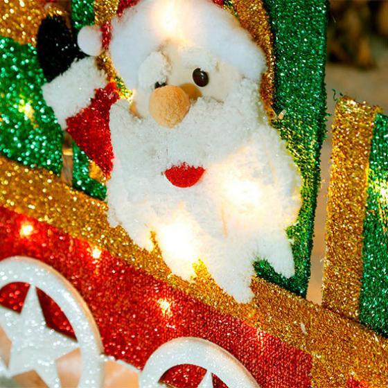 LED-Weihnachts-Lokomotive Tuff-Tuff | #2