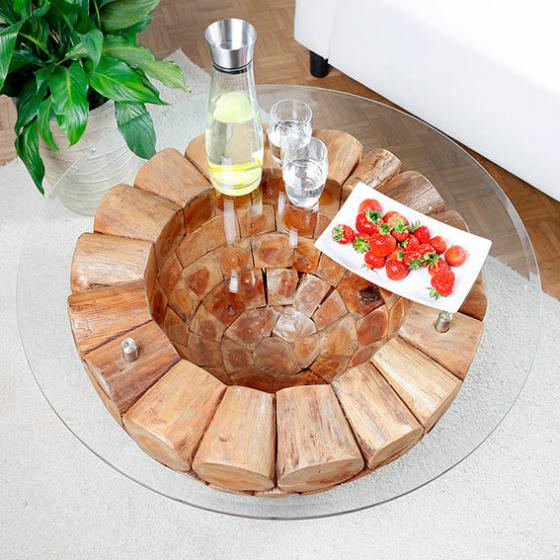 TEAK-Couchtisch Wood Design | #2