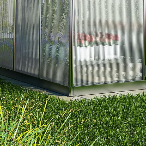 Gewächshaus Bella 8 x 8 inkl. Stahlfundament | #2