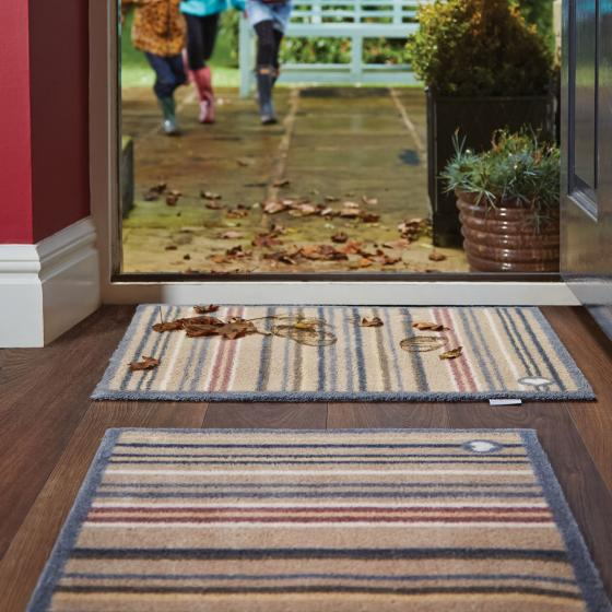 Fußmatte, horizontal gestreift | #2