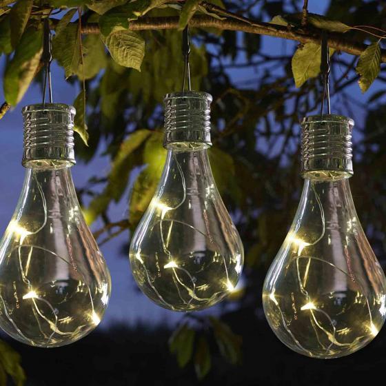 Solar-Glühbirne Edison, 6er-Set | #2