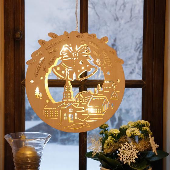 LED-Fensterdeko Alpenwinter | #2