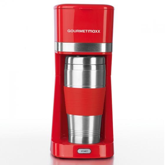 GOURMETmaxx Single-Kaffeemaschine rot | #2