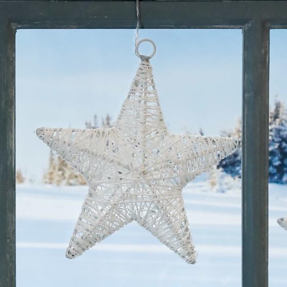 LED-Fensterdeko Sternenglück | #2