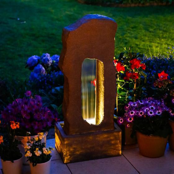 Brunnen Niagara mit LED-Beleuchtung | #2