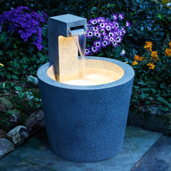 Brunnen Quell-Design mit LED-Beleuchtung | #2