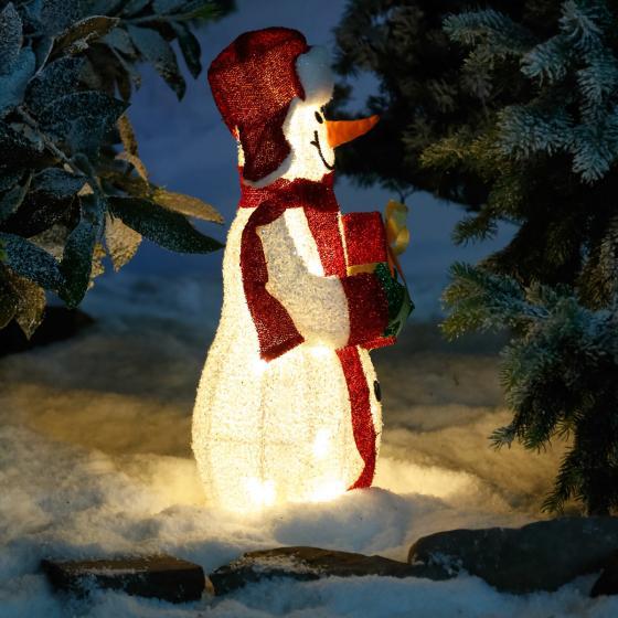LED-Leucht-Schneemann Joy | #2