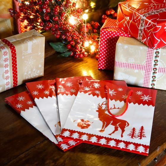 Geschenktüten Rentier, 4er-Set | #2
