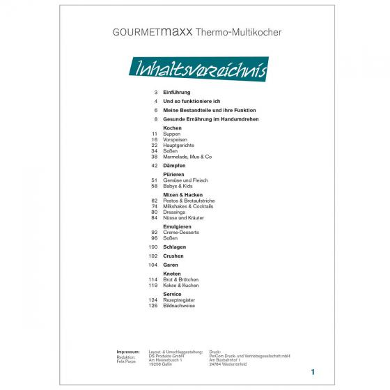 GOURMETmaxx Thermo-Multikocher Buch | #2