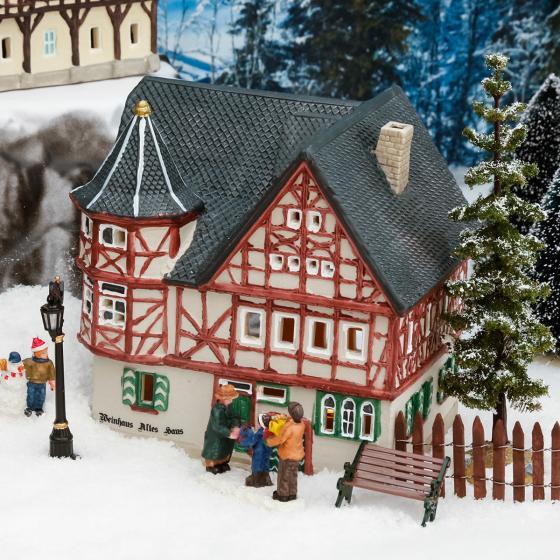 Miniatur-Lichthaus Altes Weinhaus in Bacharach | #2