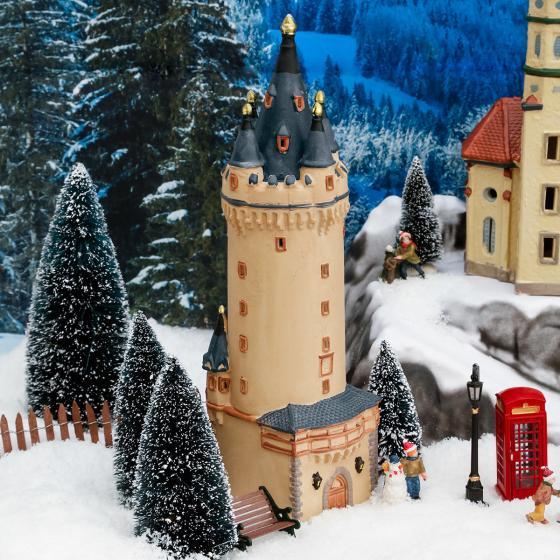 Miniatur-Lichthaus Eschenheimer Turm in Frankfurt | #2