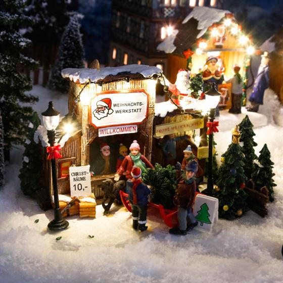 Miniatur-LED-Weihnachtsbaum-Verkauf   #2
