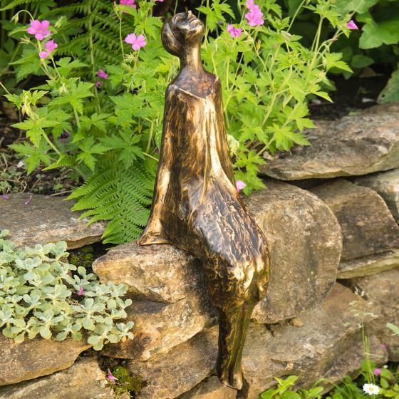 Bronze-Figur Sternbeobachterin Stella | #2