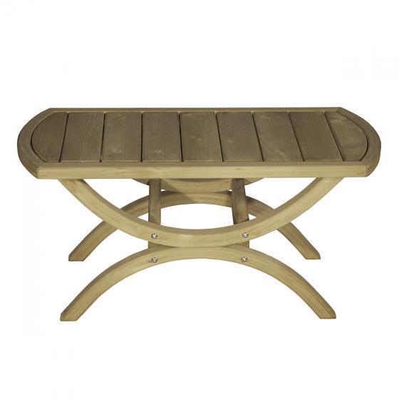 Gartentisch Tavolino, Beistelltisch, braun | #2