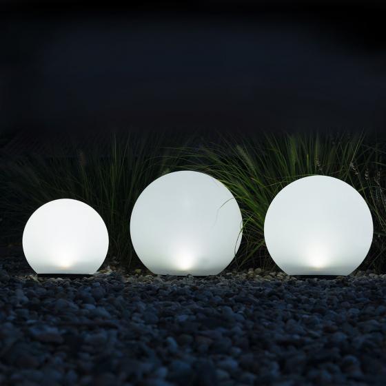 HEITRONIC® Solar LED-Kugeln Boule, 3er-Set, weiß | #2