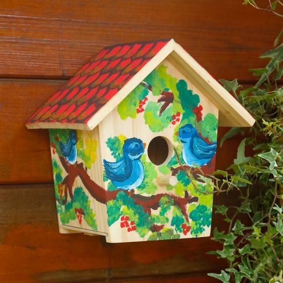 Vogelhaus zum Bemalen | #2