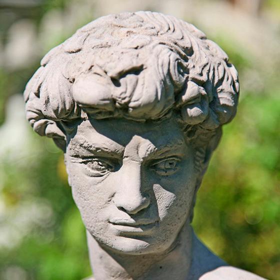 Gartenfigur Skulptur David | #2