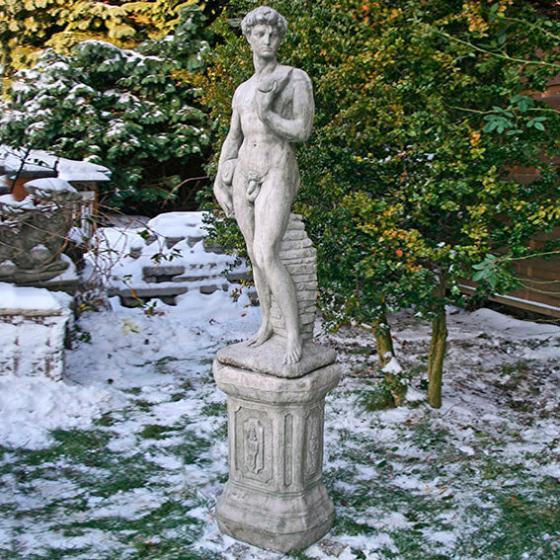 David mit Säule | #2