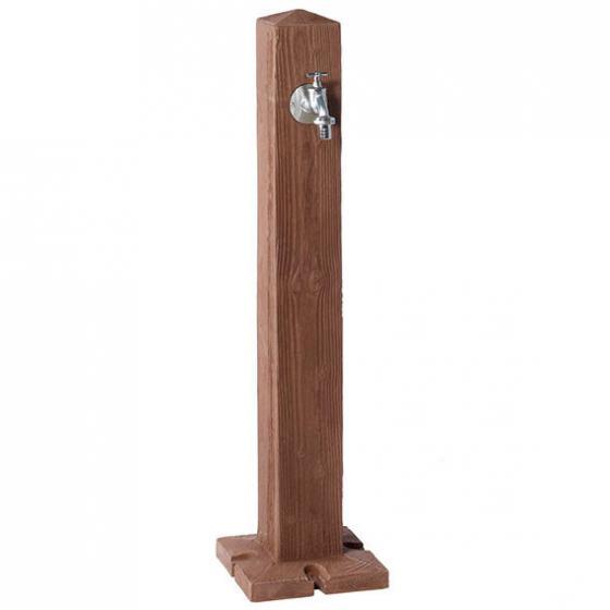 Holz Wasserzapfsäule, dunkel | #2