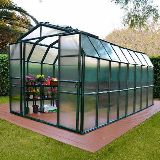 Gewächshaus Grand Gardener 48 mit Fundamentrahmen | #2
