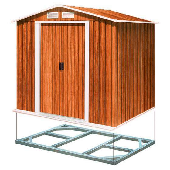 Metallunterkonstruktion für Gerätehaus Titan 8x6 | #2