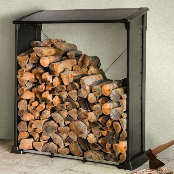 Firewood Shelter Kaminholzregal | #2