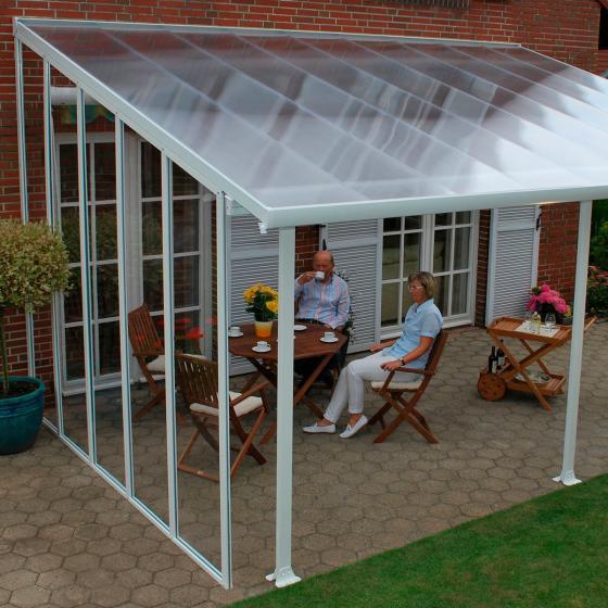 seitenwand f r terrassen berdachung feria 4 von g rtner p tschke. Black Bedroom Furniture Sets. Home Design Ideas