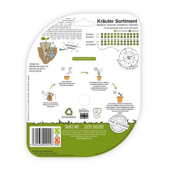 Seedcell-Sortiment Kräuter | #2