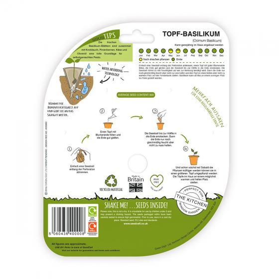 Seedcell Topf-Basilikum, 8 Seedcells | #2