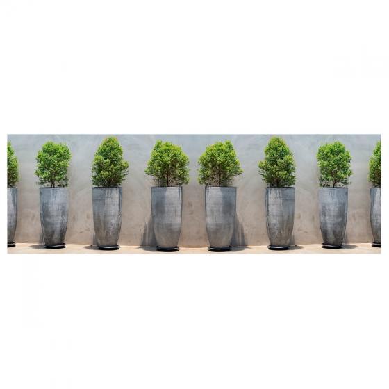 Balkon-Sichtschutz Pflanztöpfe | #2
