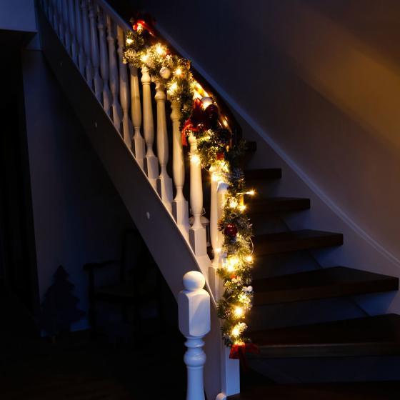 LED-Tannengirlande Feliz Navidad | #2