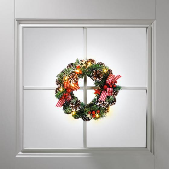 LED-Weihnachtskranz Klassik | #2