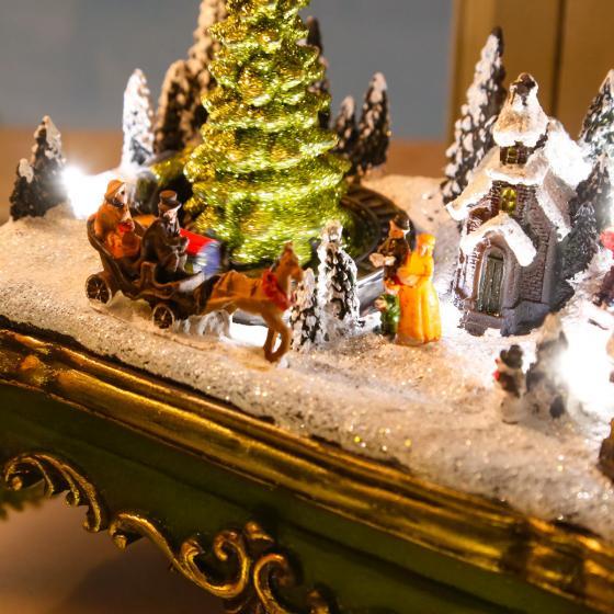 LED-Winterszene Weihnachtsdorf | #2