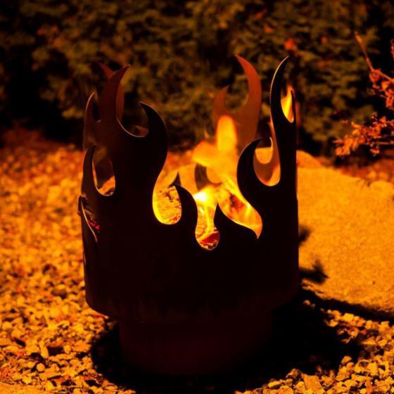 Flammenkorb tanzende Flamme | #2