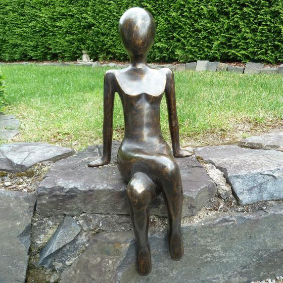 Bronze-Figur Kantenfigur Donna | #2