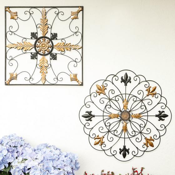 Wandbild goldene Blüte Ronda | #2