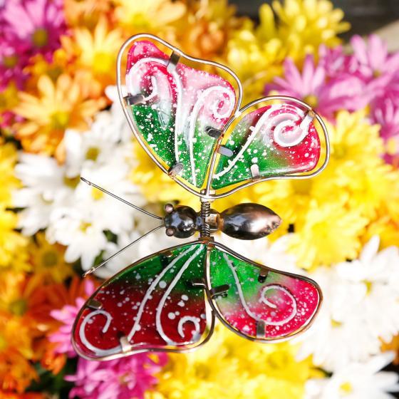 Topfstecker Libelle & Schmetterling, 2er-Set | #2