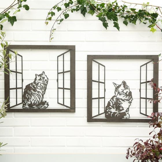 Wandbild Katze Flauschi | #2