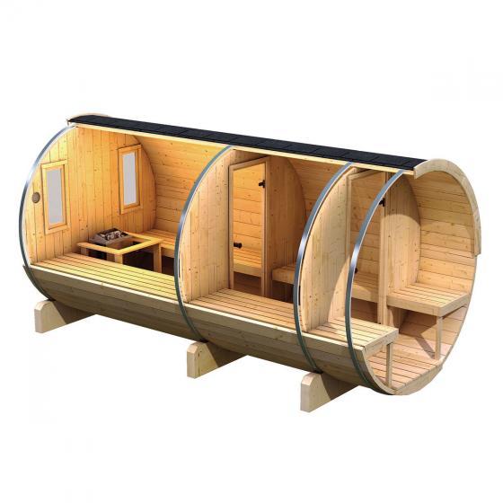 Karibu Fass-Sauna Lilja | #2